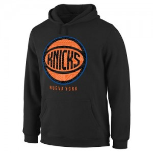 Hoodie Basket Knicks Noches Enebea Pullover Homme Noir