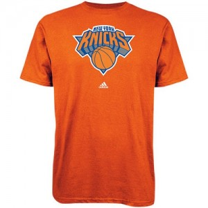 Adidas T-Shirt De Knicks Homme Primary Logo Bleu royal