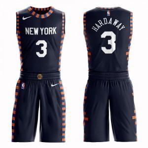 Nike Maillot Basket Hardaway Jr. Knicks #3 Enfant bleu marine Suit City Edition