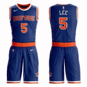 Nike NBA Maillot Courtney Lee New York Knicks Suit Icon Edition Enfant #5 Bleu royal