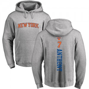 Nike NBA Sweat à capuche Carmelo Anthony Knicks Ash Backer Pullover Homme & Enfant #7