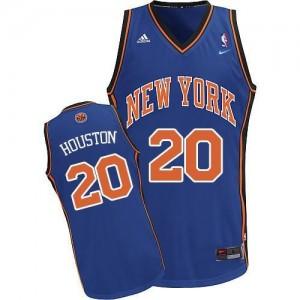 Nike Maillots Houston New York Knicks Bleu royal Throwback Homme No.20