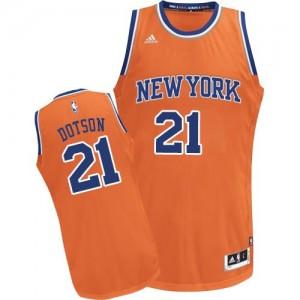 Adidas Maillots Dotson New York Knicks Orange #21 Homme