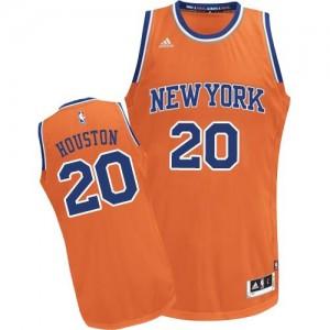 Adidas Maillots Houston Knicks Enfant No.20 Orange