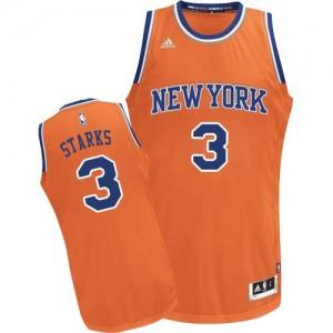 Adidas NBA Maillot Basket John Starks New York Knicks Orange No.3 Enfant