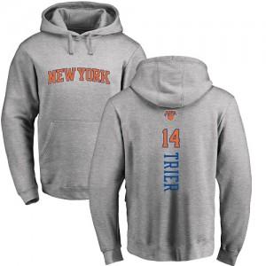 Nike Hoodie Allonzo Trier Knicks Homme & Enfant Ash Backer Pullover #14