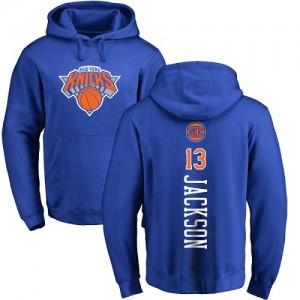Nike Hoodie Jackson Knicks Bleu royal Backer Pullover #13 Homme & Enfant