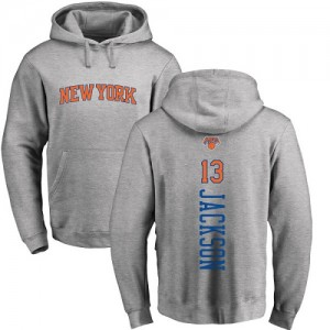 Nike NBA Hoodie Basket Jackson New York Knicks Ash Backer No.13 Pullover Homme & Enfant