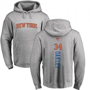 Hoodie Basket Oakley Knicks Homme & Enfant Ash Backer Pullover No.34 Nike