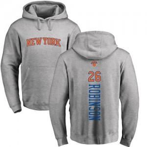 Hoodie De Basket Mitchell Robinson Knicks Ash Backer Nike Homme & Enfant No.26 Pullover