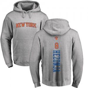 Nike Hoodie De Basket Mario Hezonja Knicks Pullover No.8 Ash Backer Homme & Enfant