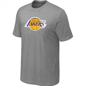 NBA Tee-Shirt De Basket Lakers Homme Big & Tall Primary Logo Gris