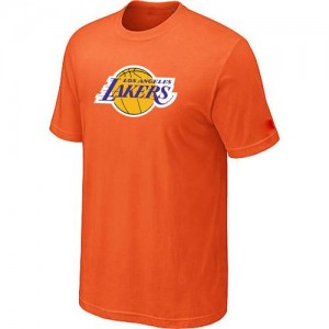Tee-Shirt De Basket Los Angeles Lakers Orange Homme Big & Tall Primary Logo