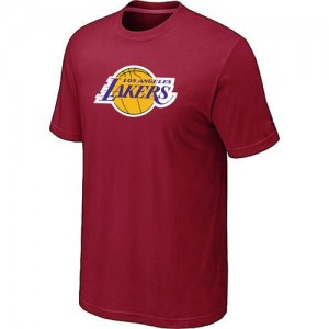 T-Shirt De Lakers Big & Tall Primary Logo Rouge Homme