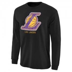 T-Shirt Lakers Noir Homme Noches Enebea Long Sleeve