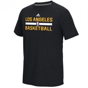 Adidas NBA T-Shirt Lakers On-Court Climalite Ultimate Noir Homme