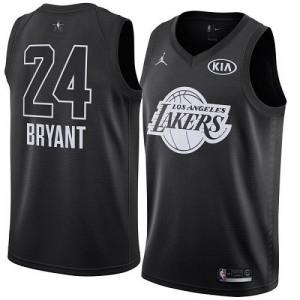 Maillots De Basket Kobe Bryant Los Angeles Lakers Nike Enfant 2018 All-Star Game Noir #24