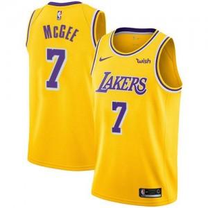 Nike NBA Maillot De Basket McGee LA Lakers Homme No.7 Icon Edition or