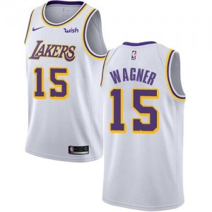 Maillot De Moritz Wagner Los Angeles Lakers Enfant Blanc Association Edition No.15 Nike