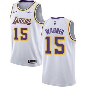 Maillot De Moritz Wagner Los Angeles Lakers Enfant Blanc Association Edition No.15 Nike
