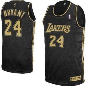 Adidas Maillot De Kobe Bryant Los Angeles Lakers No.24 Homme Noir / Gris