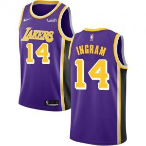 Nike NBA Maillots Basket Ingram Lakers Statement Edition Enfant Violet #14