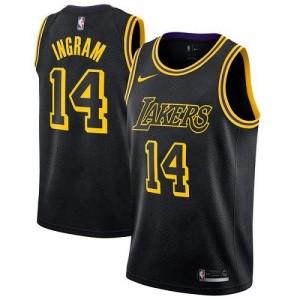 Nike NBA Maillot De Ingram Lakers Noir City Edition #14 Homme