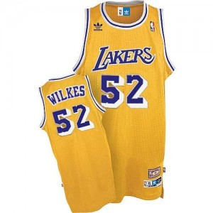 Adidas NBA Maillots De Wilkes LA Lakers or No.52 Homme Throwback