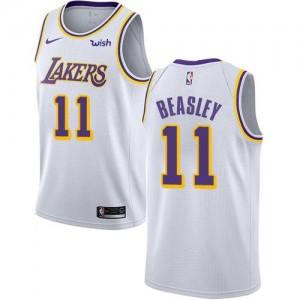 Nike NBA Maillot De Michael Beasley Lakers #11 Blanc Association Edition Enfant