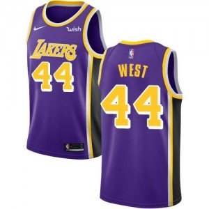 Nike Maillot West Lakers Enfant Violet No.44 Statement Edition