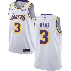 Maillots Josh Hart Lakers #3 Blanc Nike Enfant Association Edition
