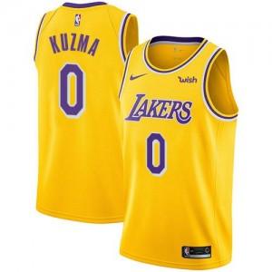 Nike Maillots Kyle Kuzma Los Angeles Lakers or Icon Edition Enfant No.0