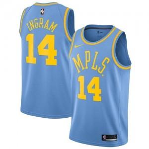 Maillots Ingram LA Lakers Bleu Nike Enfant Hardwood Classics #14