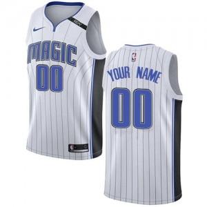 Nike Maillot Personnalisé Magic Homme Association Edition Blanc