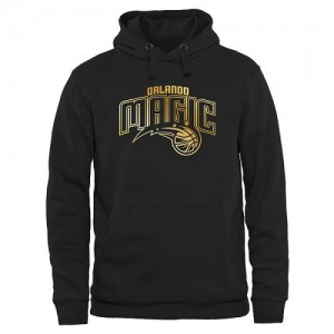 Hoodie Basket Magic Homme Noir Gold Collection Pullover