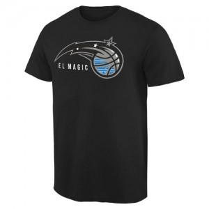 NBA Tee-Shirt Basket Orlando Magic Noir Noches Enebea Homme