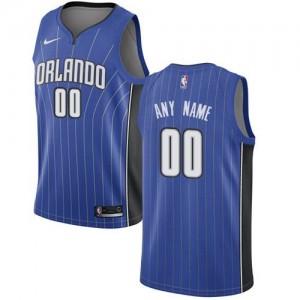 Nike Personnaliser Maillot De Basket Orlando Magic Enfant Icon Edition Bleu royal