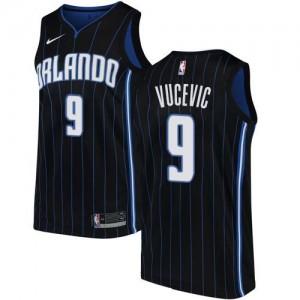 Nike Maillots Basket Nikola Vucevic Magic Homme #9 Statement Edition Noir