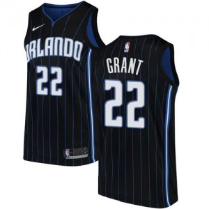 Maillots De Basket Grant Orlando Magic Homme Statement Edition Nike Noir #22