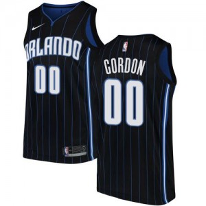 Nike NBA Maillot De Basket Aaron Gordon Magic Homme Statement Edition No.0 Noir