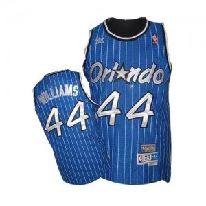 Maillot Jason Williams Magic #44 Bleu royal Homme Throwback Mitchell and Ness