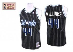Mitchell and Ness NBA Maillot Basket Jason Williams Orlando Magic Throwback Homme Noir #44