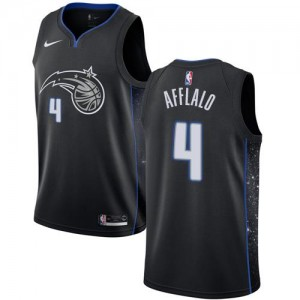 Nike Maillots De Arron Afflalo Orlando Magic Noir City Edition No.4 Enfant
