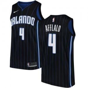 Nike NBA Maillot De Basket Afflalo Magic Noir Statement Edition #4 Enfant