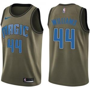 Maillots Basket Jason Williams Orlando Magic Salute to Service #44 vert Nike Homme