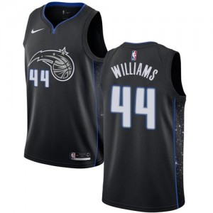 Nike NBA Maillots De Jason Williams Magic Noir City Edition #44 Enfant