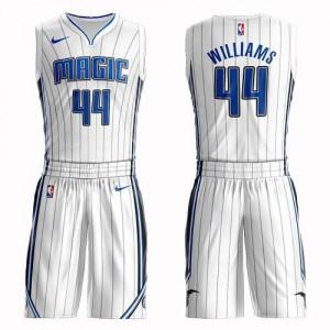 Nike Maillot De Jason Williams Orlando Magic Enfant Suit Association Edition #44 Blanc