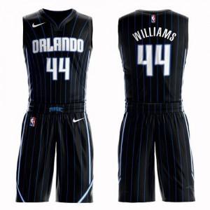 Maillots De Basket Williams Orlando Magic Noir Nike Enfant No.44 Suit Statement Edition