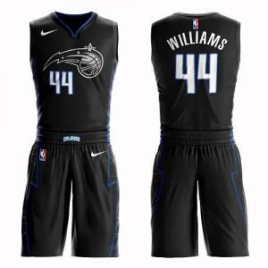 Maillots Basket Williams Orlando Magic Suit City Edition Nike Enfant No.44 Noir