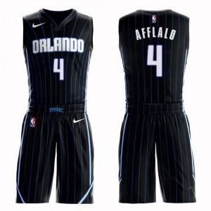 Nike NBA Maillot Basket Arron Afflalo Magic #4 Suit Statement Edition Homme Noir